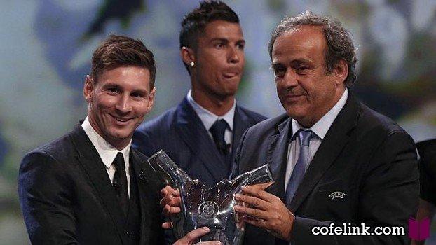 لیونل مسی بهترین بازیکن اروپا
