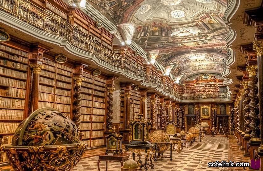 زیباترین کتابخانه جهان
