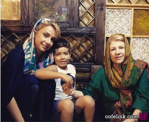 شبنم قلی خانی و مادرش