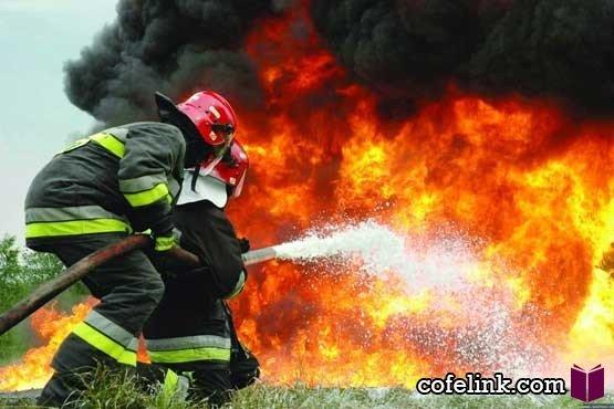 آتش سوزی مجتمع تجاری تجریش