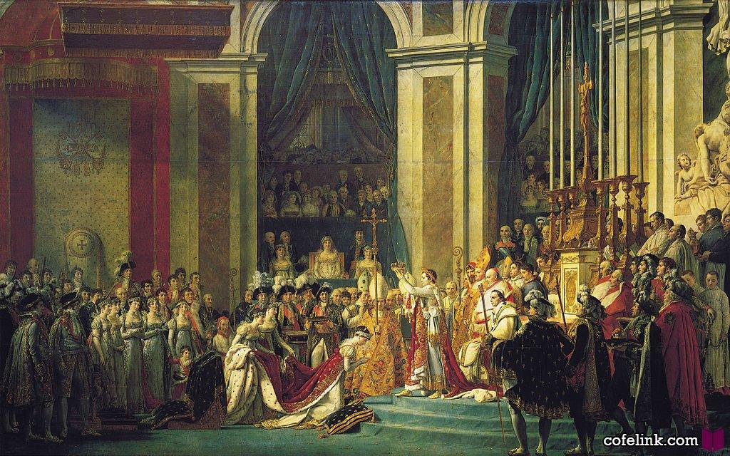 تاجگذاری ناپلئون بُناپارت