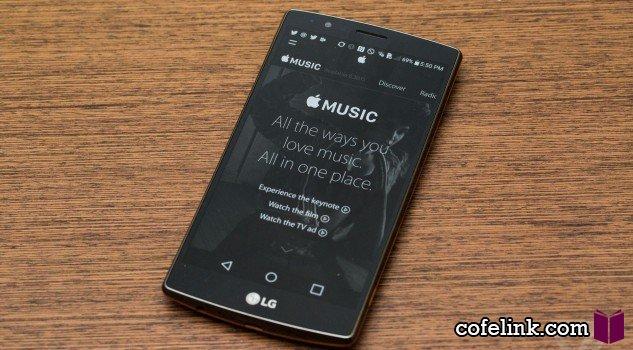 اپل موزیک برای اندورید