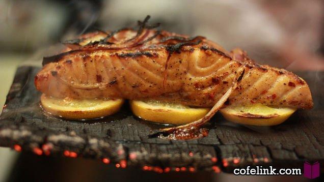 ماهی کبابی