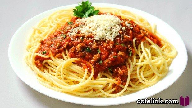 طرز تهیه اسپاگتی با گوشت